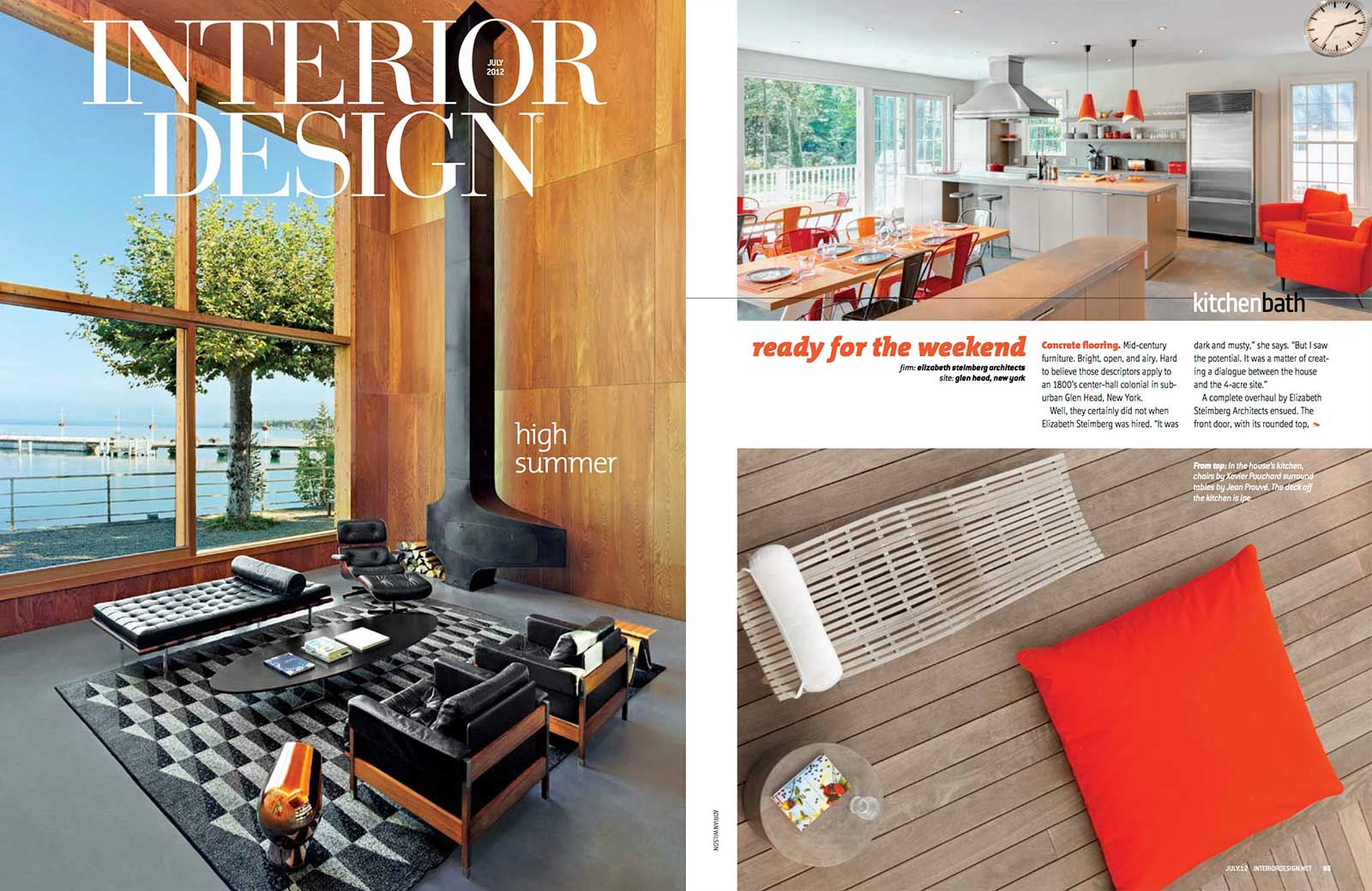 Interior Design Magazine High Summer Issue July 2012